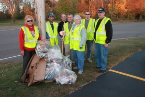 Lions Highway Cleanup, October 2010