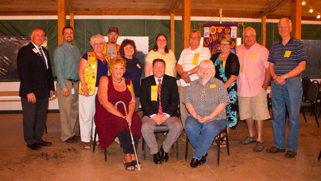 2017-18 Lions Club Board of Officers